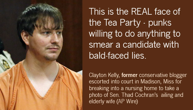 Clayton Kelly - Tea Party Thug