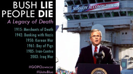 Bush lie, People Die