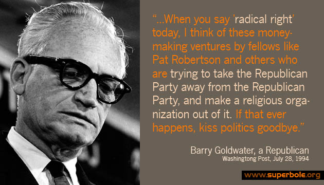 Barry Goldwater Was Right