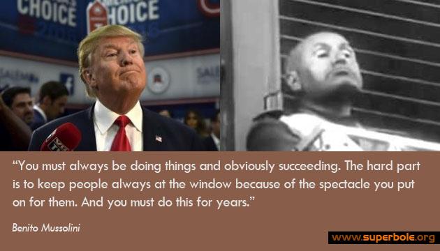 il Duce Trump