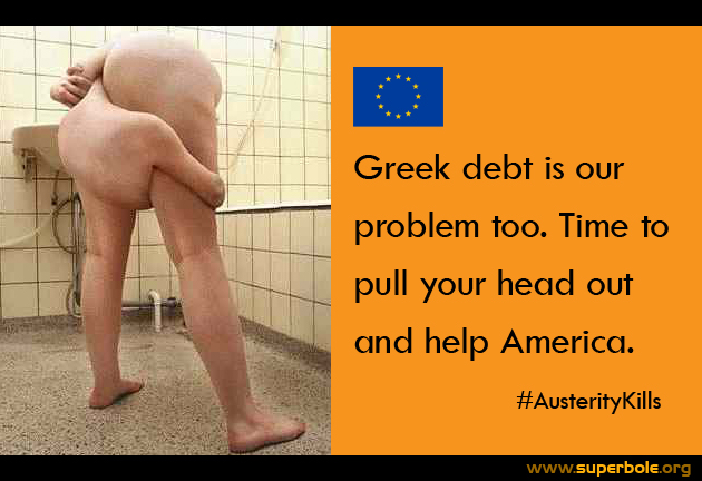 Criminals of Greek Debt: They need solutions, Not more Austerity