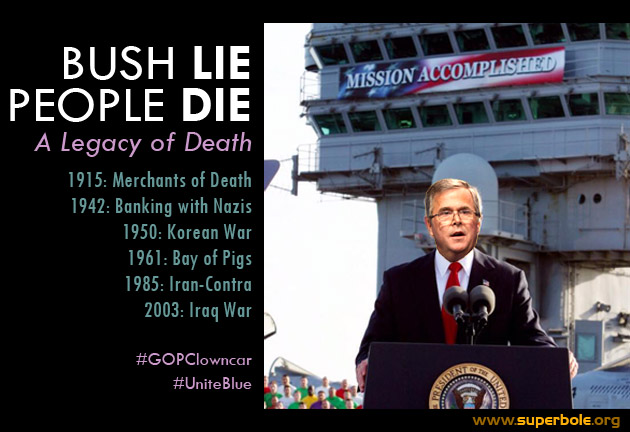 Bush Lie, People Die: A 100 Year Family Business of Death